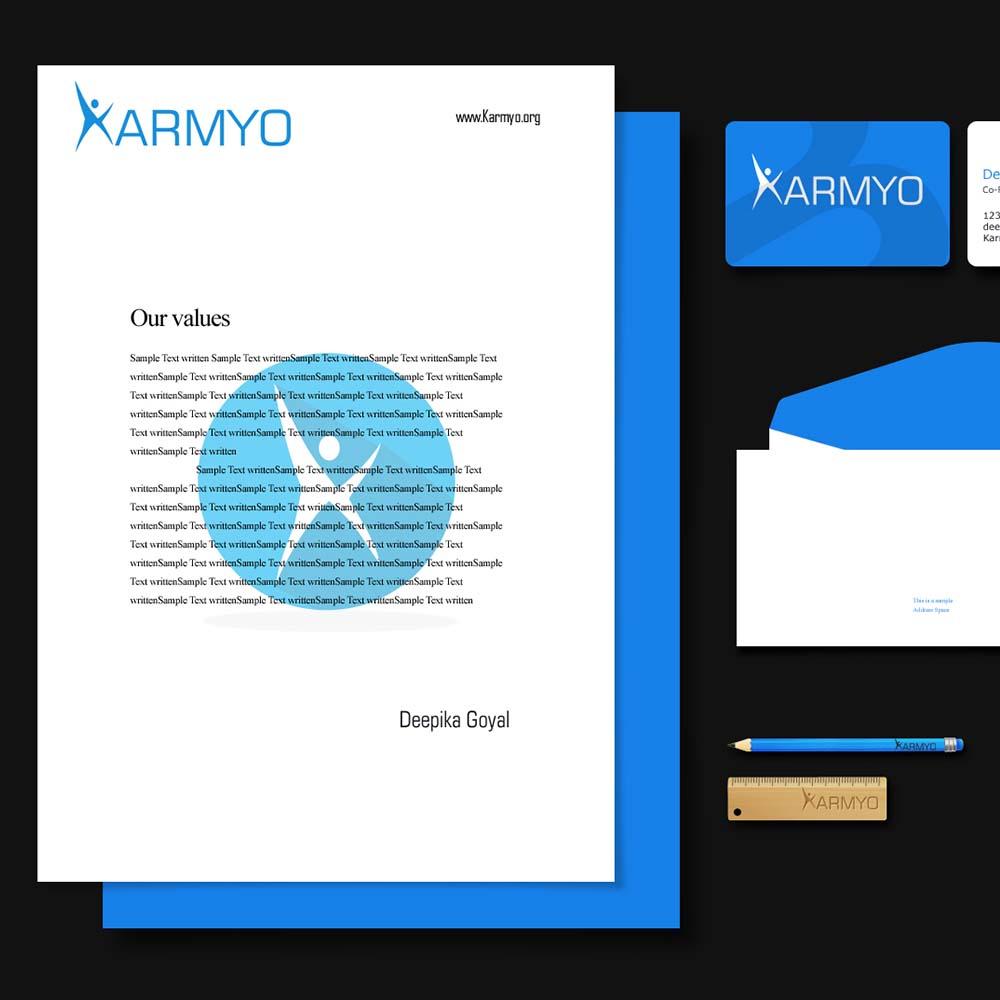https://www.stackmint.com/Karmyo Logo Design & Branding